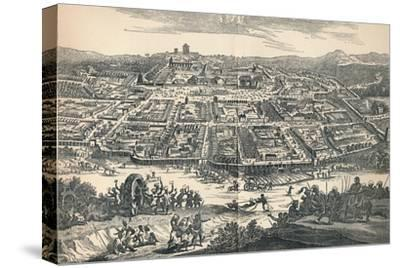 'Banza Lovangri, The Capital of the Former Kingdom of Lovango', c1670, (1903)-Unknown-Stretched Canvas Print