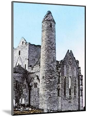 'Ruins on the Rock of Cashel Co., Tipperary', c1910-Unknown-Mounted Photographic Print
