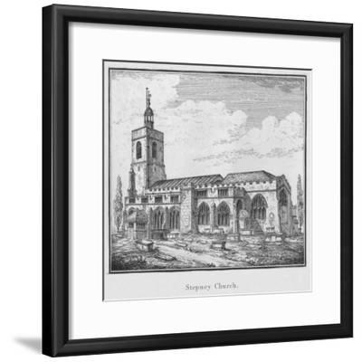 'Stepney Church', c1792-Unknown-Framed Giclee Print