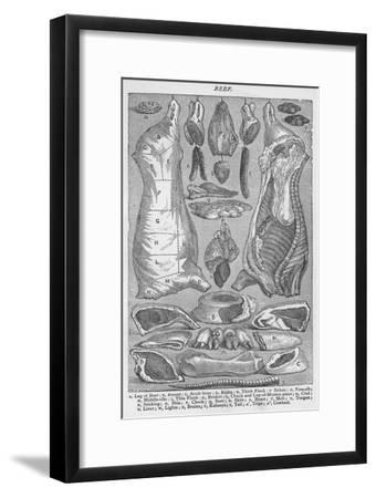 'Beef', 1907, (1907)-Unknown-Framed Giclee Print