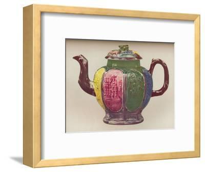'An Octagonal Salt-Glaze Teapot', c1770-Unknown-Framed Giclee Print