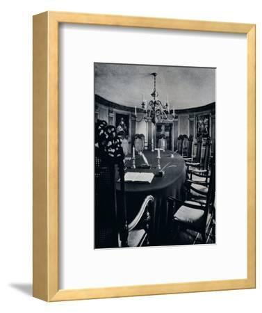 'The Room in the Capitol Where The Executive Council Assembled', c1938-Unknown-Framed Photographic Print