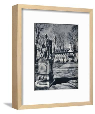 'The College of William and Mary', c1938-Unknown-Framed Photographic Print