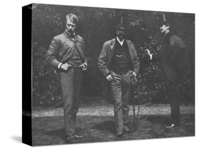 'Whistler, Chase, and Menpes', c1885, (1904)-Unknown-Stretched Canvas Print