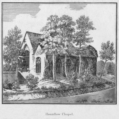 'Hounslow Chapel', c1792-Unknown-Framed Giclee Print