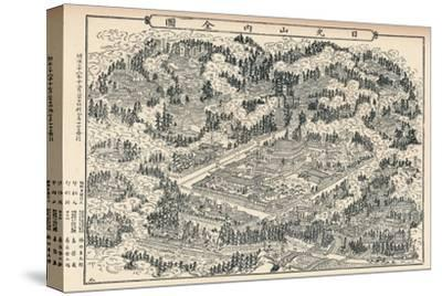 'The Burial-Place and Temple Groves of Nikko in Japan', c1860, (1904)-Unknown-Stretched Canvas Print
