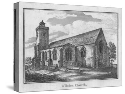 'Wilsdon Church', c1792-Unknown-Stretched Canvas Print
