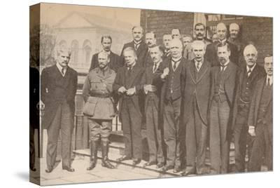 'Mr. Lloyd George, Prime Minister, and some of his colleagues in 1917', c1917-Unknown-Stretched Canvas Print