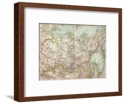 'Siberia', c1903, (1904)-Unknown-Framed Giclee Print