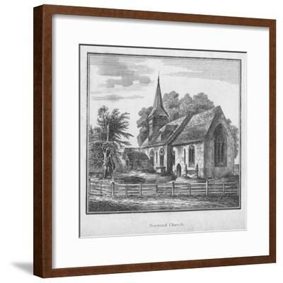 'Norwood Church', c1792-Unknown-Framed Giclee Print
