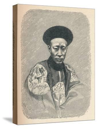 'Yi Sin, Prince Kung', c1895, (1904)-Unknown-Stretched Canvas Print