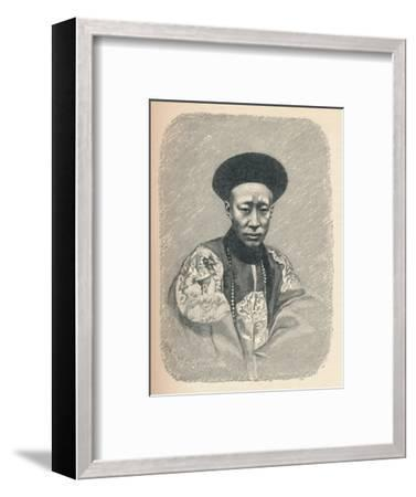 'Yi Sin, Prince Kung', c1895, (1904)-Unknown-Framed Giclee Print