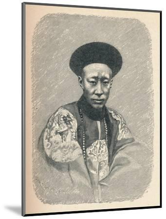 'Yi Sin, Prince Kung', c1895, (1904)-Unknown-Mounted Giclee Print