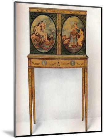 'Small Mahogany Cabinet on Stand', c1680-Unknown-Mounted Photographic Print