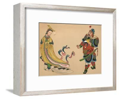'Heroes and Heroines of Chinese History', c1903, (1904)-Unknown-Framed Giclee Print