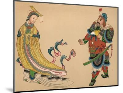 'Heroes and Heroines of Chinese History', c1903, (1904)-Unknown-Mounted Giclee Print