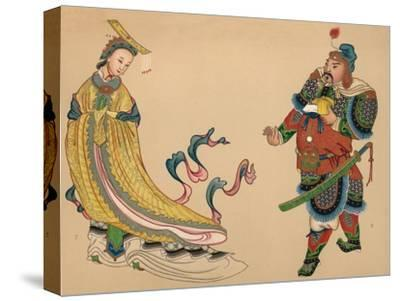 'Heroes and Heroines of Chinese History', c1903, (1904)-Unknown-Stretched Canvas Print