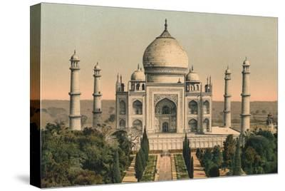 'The Taj Mahal at Agra', c1895, (1904)-Unknown-Stretched Canvas Print
