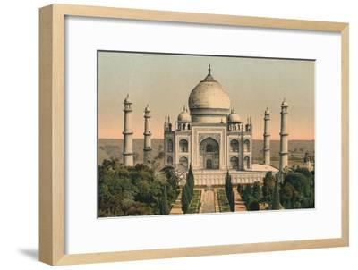 'The Taj Mahal at Agra', c1895, (1904)-Unknown-Framed Giclee Print