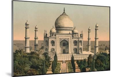 'The Taj Mahal at Agra', c1895, (1904)-Unknown-Mounted Giclee Print