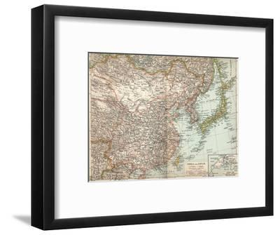 'China and Japan', c1903, (1904)-Unknown-Framed Giclee Print
