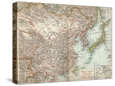 'China and Japan', c1903, (1904)-Unknown-Stretched Canvas Print