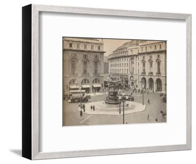 Piccadilly Circus 1931, (1935)-Unknown-Framed Photographic Print