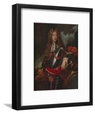 'King James II', c1690-Unknown-Framed Giclee Print