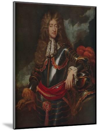 'King James II', c1690-Unknown-Mounted Giclee Print