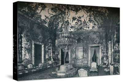 Large salon with porcelain ceiling, Royal Palace, Madrid, c1927-Unknown-Stretched Canvas Print