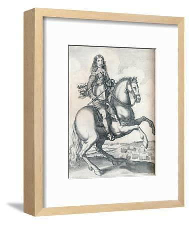 'Oliver Cromwell', 1640-Unknown-Framed Giclee Print