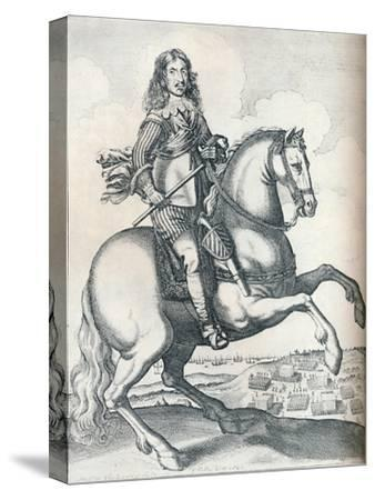 'Oliver Cromwell', 1640-Unknown-Stretched Canvas Print