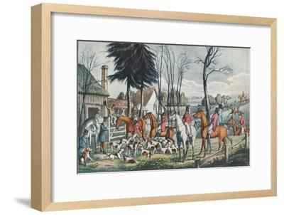 'The Death', c1824-Unknown-Framed Giclee Print