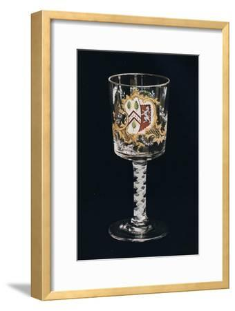 'Old English Glass Goblet', c1775-Unknown-Framed Giclee Print