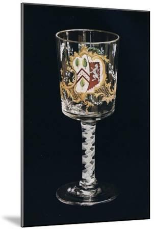 'Old English Glass Goblet', c1775-Unknown-Mounted Giclee Print