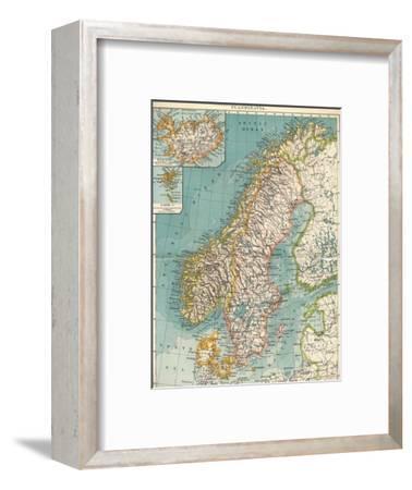 'Scandinavia', c1906, (1907)-Unknown-Framed Giclee Print
