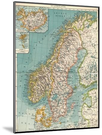 'Scandinavia', c1906, (1907)-Unknown-Mounted Giclee Print