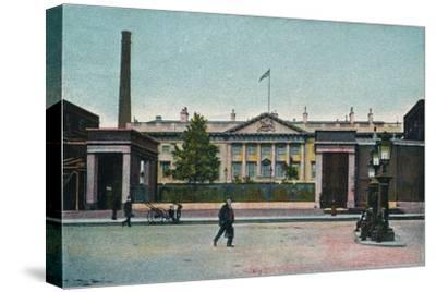 'London, The Royal Mint', c1907-Unknown-Stretched Canvas Print