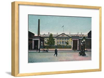 'London, The Royal Mint', c1907-Unknown-Framed Giclee Print
