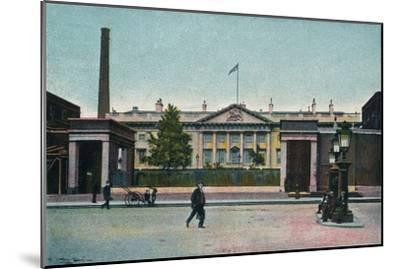 'London, The Royal Mint', c1907-Unknown-Mounted Giclee Print