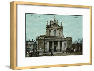 'Brompton Oratory, London', c1910-Unknown-Framed Giclee Print