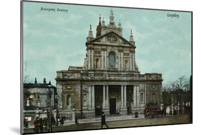 'Brompton Oratory, London', c1910-Unknown-Mounted Giclee Print