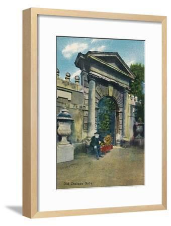 'Old Chelsea Gate', c1910-Unknown-Framed Giclee Print
