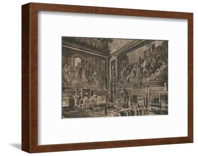'Audience Chamber, Windsor Castle', c1917-Unknown-Framed Photographic Print