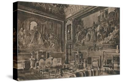 'Audience Chamber, Windsor Castle', c1917-Unknown-Stretched Canvas Print