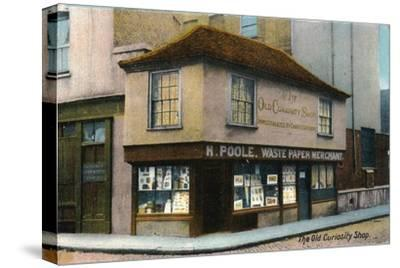 'The Old Curiosity Shop', c1910-Unknown-Stretched Canvas Print