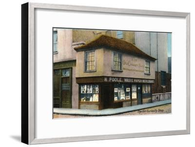 'The Old Curiosity Shop', c1910-Unknown-Framed Giclee Print