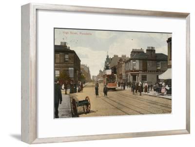 'High Street, Portobello', 1913-Unknown-Framed Giclee Print