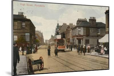 'High Street, Portobello', 1913-Unknown-Mounted Giclee Print