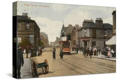 'High Street, Portobello', 1913-Unknown-Stretched Canvas Print